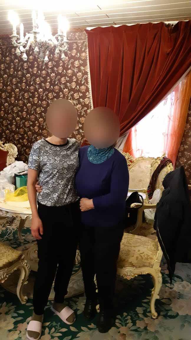 Встреча Ольги с мамой и отзыв👼💋 80