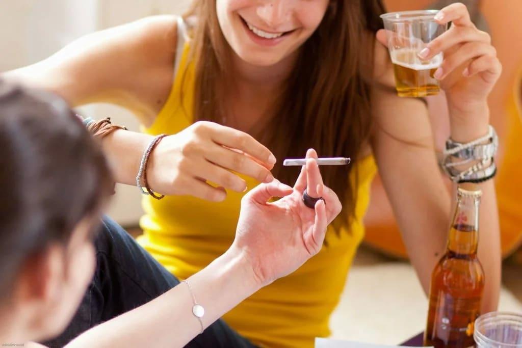 Ребенок употребляет алкоголь 26