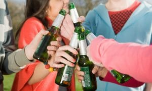 Ребенок употребляет алкоголь 2