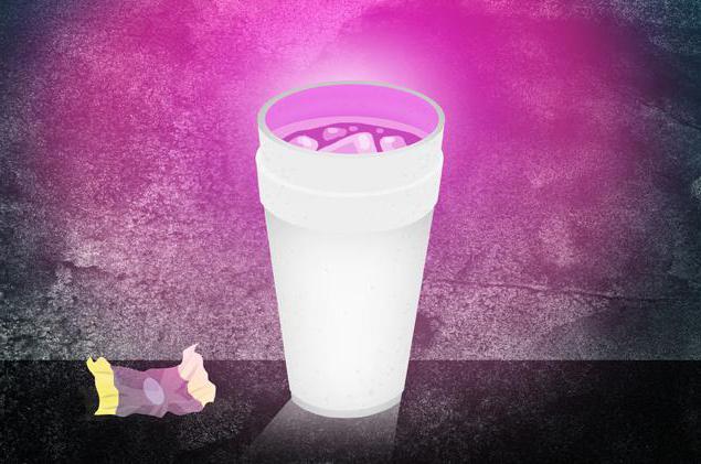 Напиток «Лин» - коктейль Кодеина и Спрайта 8